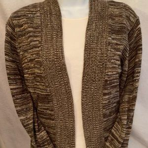 Bonworth Size XSP Brown Multi Color Sweater